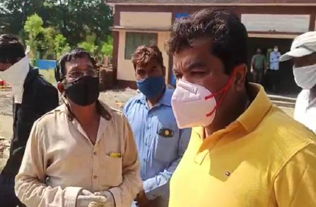 PunjabKesari, Madhya Pradesh, Bhopal, BJP, Congress, Congress MLA, cremation