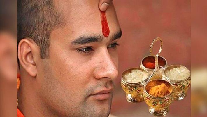 PunjabKesari, Tilak, Rice, Tilak Importance in sanatan dharm, hindu shastra, तिलक, तिलक लगाने के फायदे, Hindu Concept, Religious Concept, dharmik katha in hindi, dharmik concept
