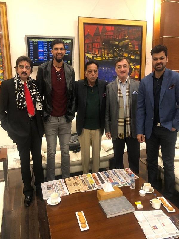 PunjabKesari, Madhya Pardesh Hindi News, Jabalpur Hindi News,Jabalpur Hindi Samachar, Tankha Memarial, Vivek Tankha, R P Singh, Ishant Sharma, Indian Cricketer