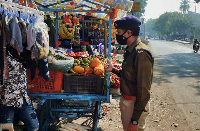 PunjabKesari, Madhya Pradesh, Indore, Corona, Social Distancing, Lockdown