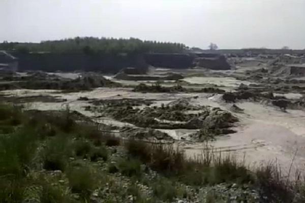 PunjabKesari, illegal, mining, department, actoin