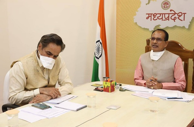 PunjabKesari, Madhya Pradesh, Corona, Lockdown, Bhopal, Shivraj Singh Chauhan, Emergency meeting, Kovid 19