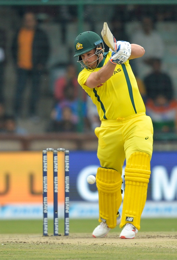 Aaron finch bold 22 time in his 100 innings of ODI cricket