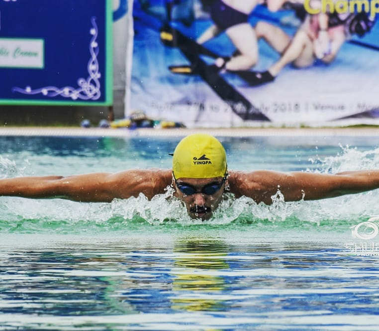 PunjabKesari, Swimming Competition, University Competition, Bhopal, Jalandhar, Lovely Professor University, Barkatullah University, Madhya Pradesh News