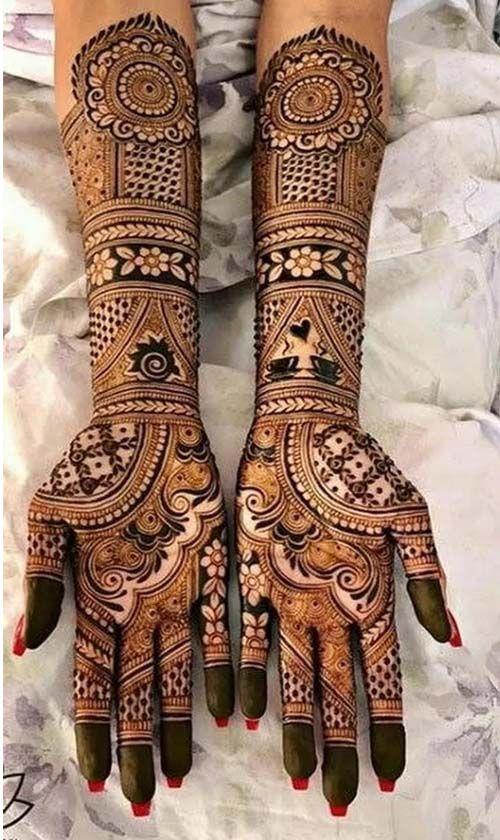 PunjabKesari,इंडियन मेहंदी डिजाइन इमेज, Indian Mehndi Design For Full Hand, इंडियन मेहंदी डिजाइन फॉर फुल हैंड