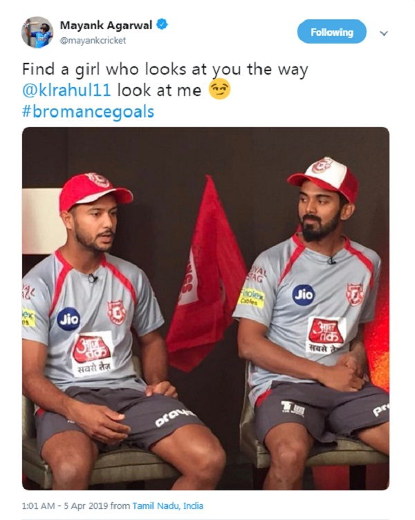 KL Rahul trolled again for his photo with Mayank Agarwal
