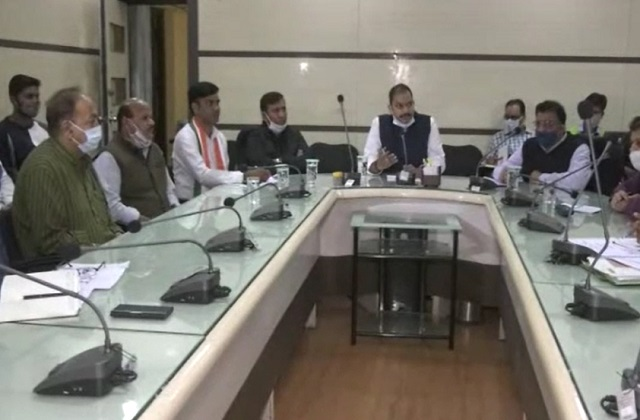 PunjabKesari, Congress MLA Praveen Pathak, Gwalior Municipal Corporation, Gwalior, Madhya Pradesh