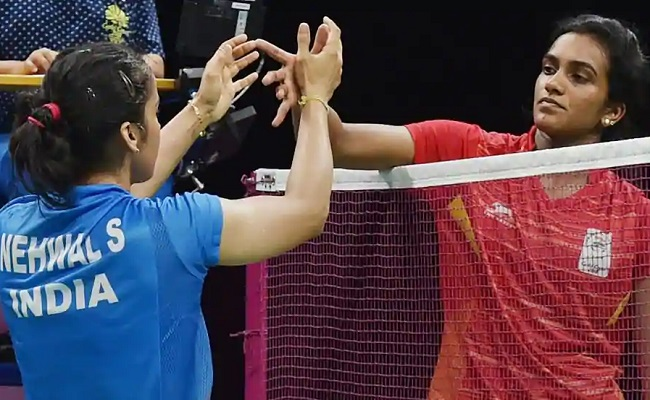 Saina becomes the national queen after defeating Sindhu