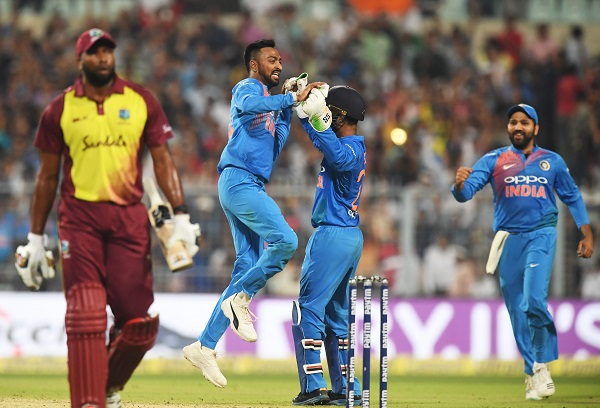 Indian Cricket Team image, india vs windies 2nd t20