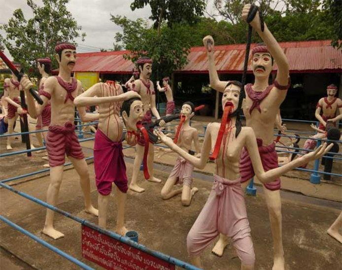 PunjabKesari, Narak Temple in Thailand, Chiang Mai