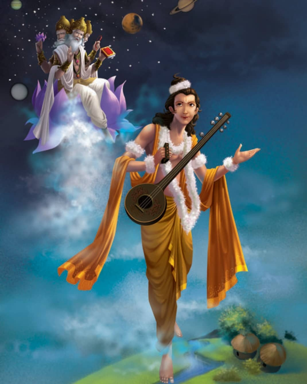PunjabKesari, Narad Jayanti 2020, Narad Jayanti, नारद जयंती, नारद जयंती 2020, Narad Muni, नारद मुनि, नारद पुराण, Narad Purana, Hindu Shastra, Hindu Religion, Lord Vishnu, Dharmik katha, Religious Story in hindi