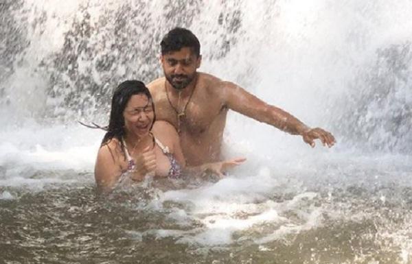 Karun Nair and Sanaya Tankariwala Engaged
