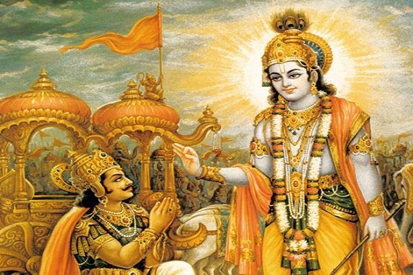 PunjabKesari, Shrimad Bhagavad Gita, Shrimad Bhagavad Gita Gyan, Bhagavad Geeta, श्रीमद्भगवद्गीता, Lord krishna, Sri krishan, Arjun, अर्जुन, श्री कृष्ण, Mantra Bhajan Aarti, Vedic Mantra in Hindi