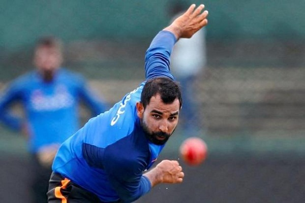 Mohammed shami up 19th spot in ICC odi bowling ranking