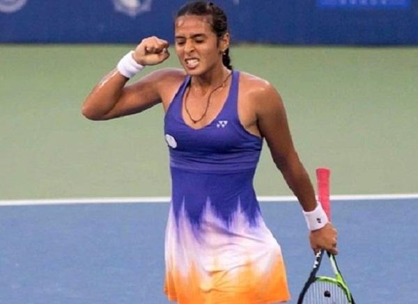 Ankita Raina Got higher Spot in WTA single Ranking