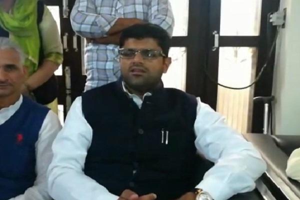 PunjabKesari, Dushyant chautala, INLD