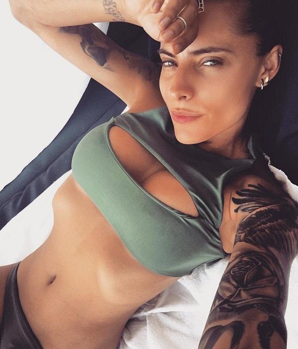 Loris karius seen with German hot model Sophia Thomalla