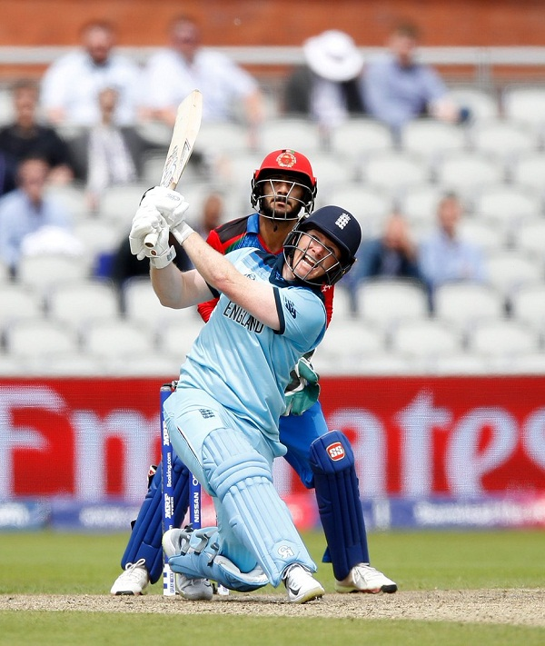 Eoin Morgan Hit 17 six against AFG in cricket world cup match