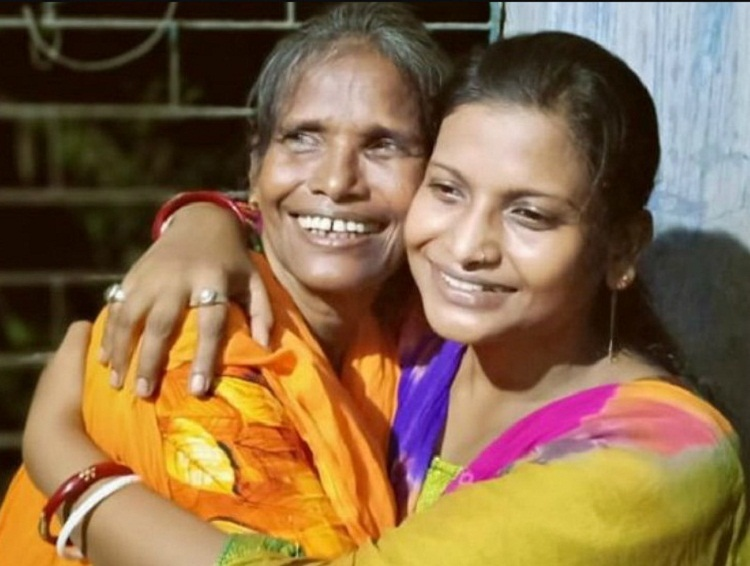 Bollywood Tadka, ranu with daughter