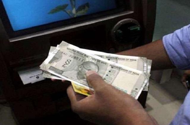 PunjabKesari, Madhya Pradesh, Panna, ATM, bank robbery, Panna police