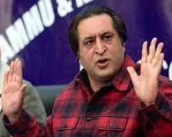 sajjad lone criticised farooq on praising yaseen malik