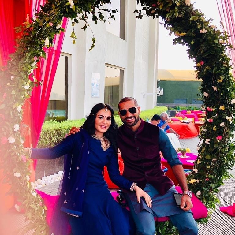 Karva chauth, shikhar dhawan photo, shikhar dhawan image,Shikhar dhawan wife, Ayesha dhawan