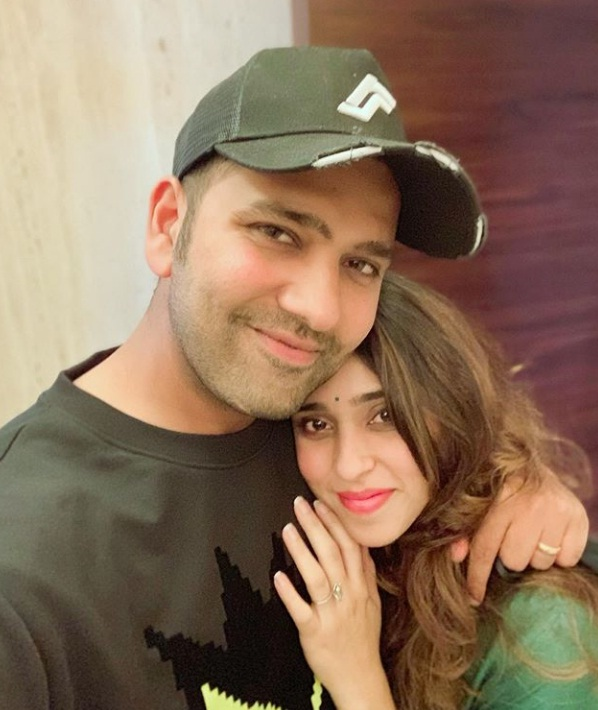 Karva chauth, Rohit sharma image, Rohit sharma  wife , ritika sajdeh photo