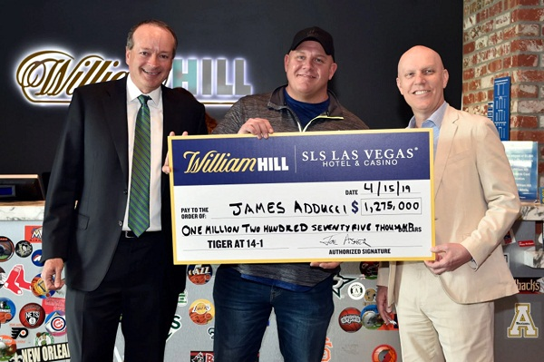 Gambler who won $1.2 million on Tiger Woods' 2019 Masters victory