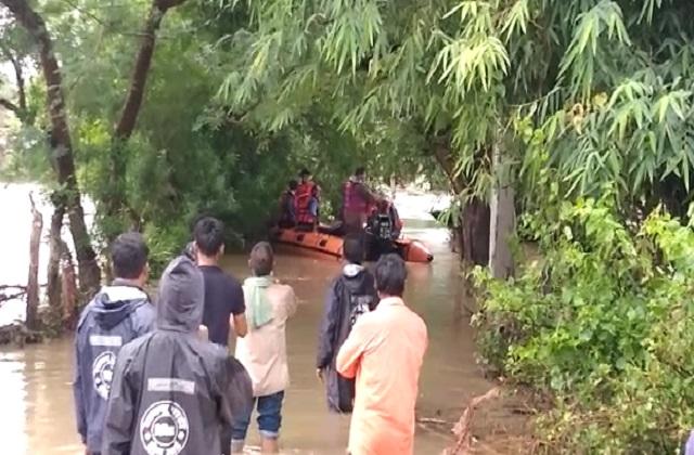 PunjabKesari, Shamshabad, Madhya Pradesh, Vidisha district, heavy rain