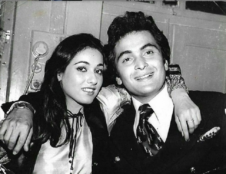Bollywood Tadka, rishi and teena munim