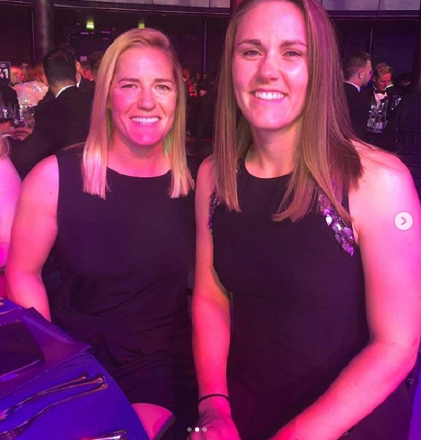 England women's cricketers Natalie Siver and Katherine Brunt get engaged