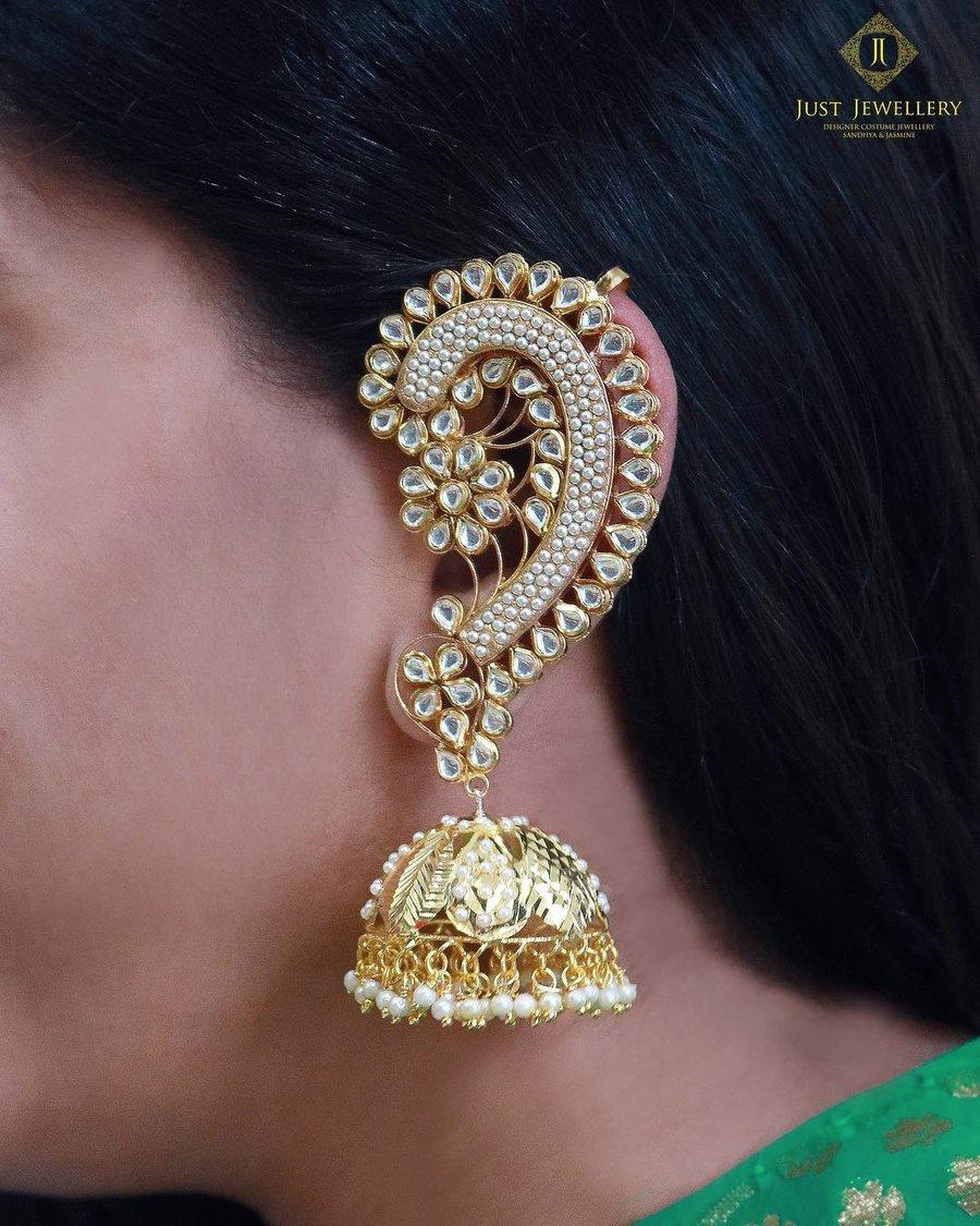 PunjabKesari,Different Style Jhumka image,डिफरैंट स्टाइल झूमका इमेज