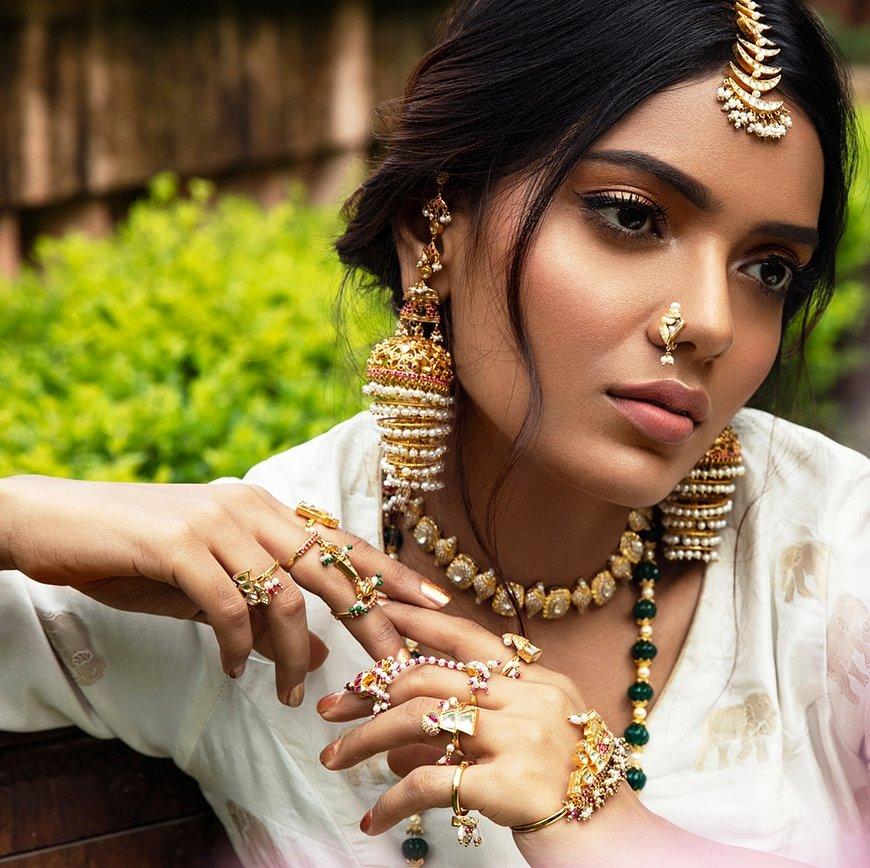 PunjabKesari,Multi Layer Jhumka Style image,मल्टी लेयर्स झूमका स्टाइल इमेज
