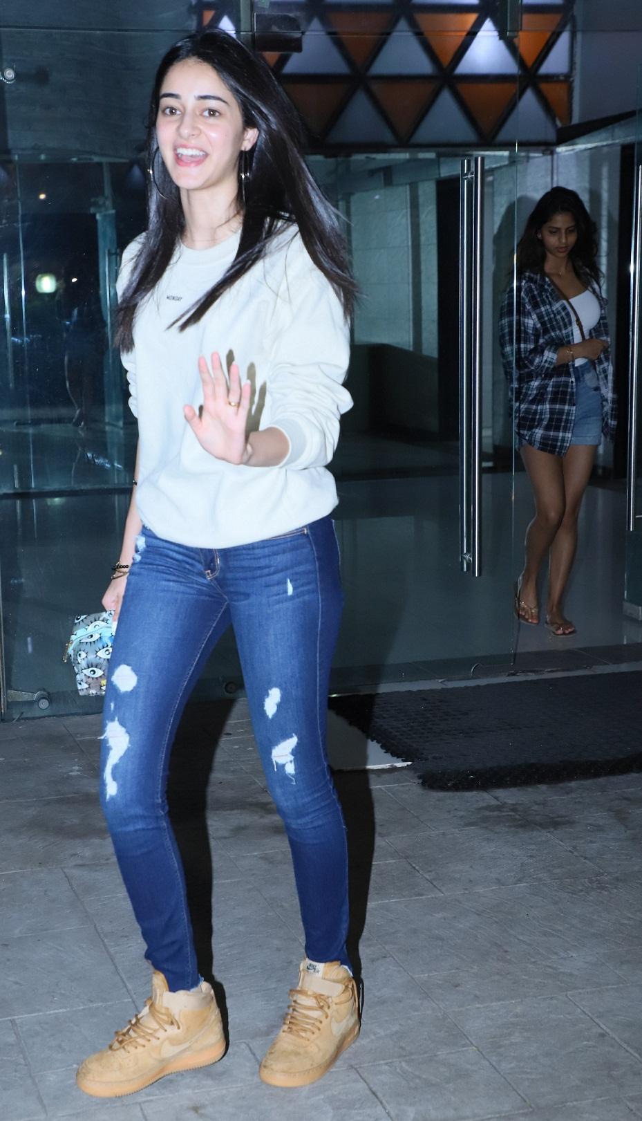 Bollywood Tadka, सुहाना खान इमेज, सुहाना खान फोटो, सुहाना खान पिक्चर, अनन्या पांडे इमेज, अनन्या पांडे फोटो, अनन्या पांडे पिक्चर