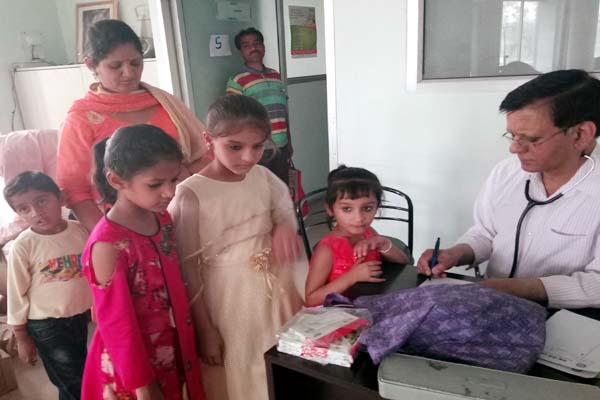 PunjabKesari, Free Medical Camp Image
