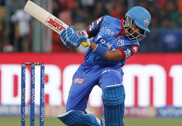 Prithvi shaw now hold the records of Most dismissals in PP in IPL 2019