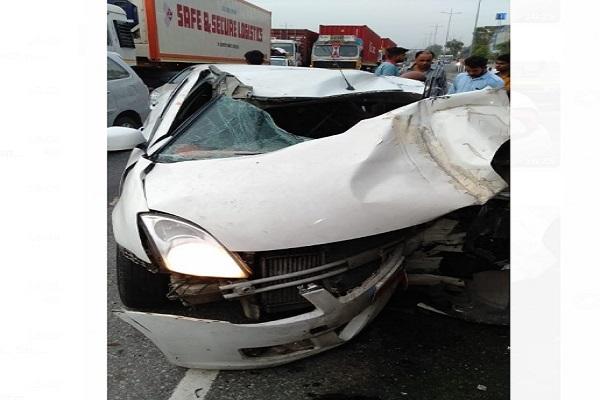 PunjabKesari, victim, family, Police, traffic