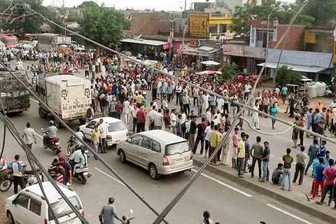 transporters strike in kathua