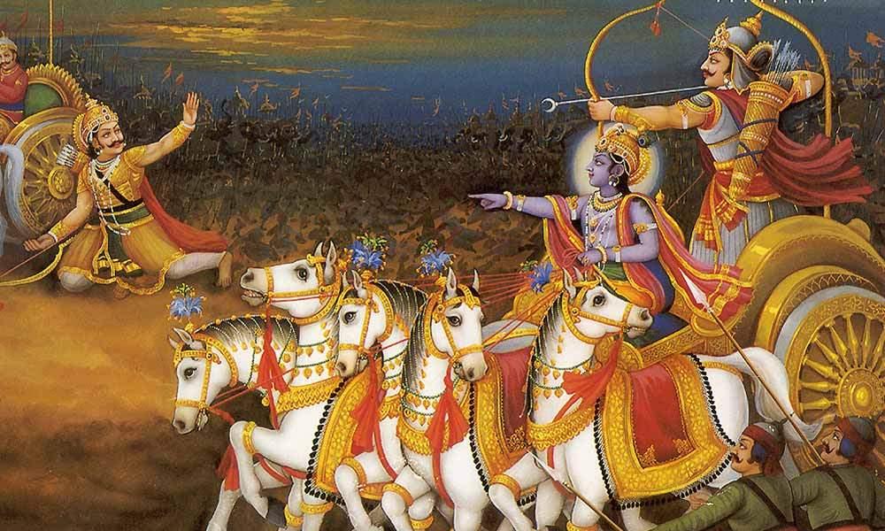 PunjabKesari, Sri Krishan, श्री कृष्ण, अर्जुन, Arjun