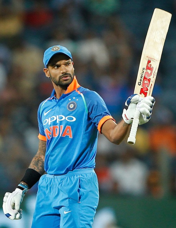 Dhawan May out from T20 series against australia, KL Rahul Should join Team india