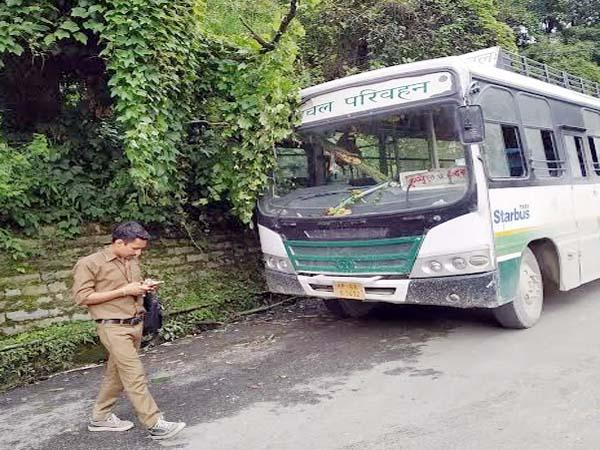 PunjabKesari, HRTC Bus Image