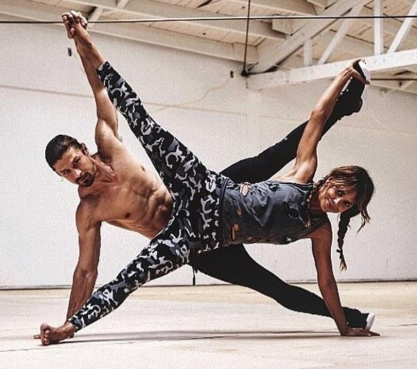 Halle Berry training jiu-jitsu with UFC's Brian Ortega