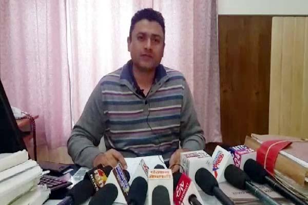 PunjabKesari, DSP Ajay Kumar Image