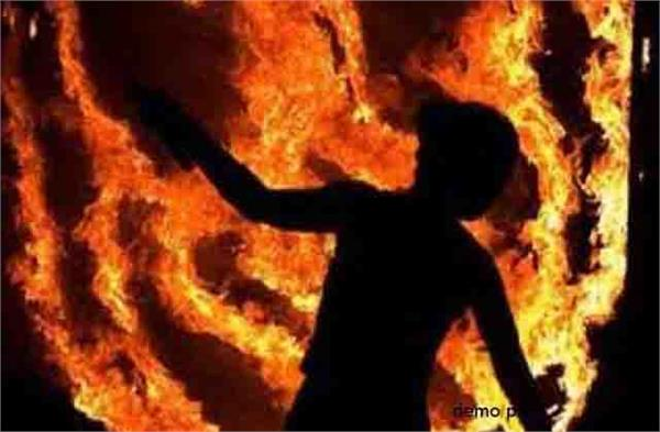 after the gang rape the poor tried to burn the married woman