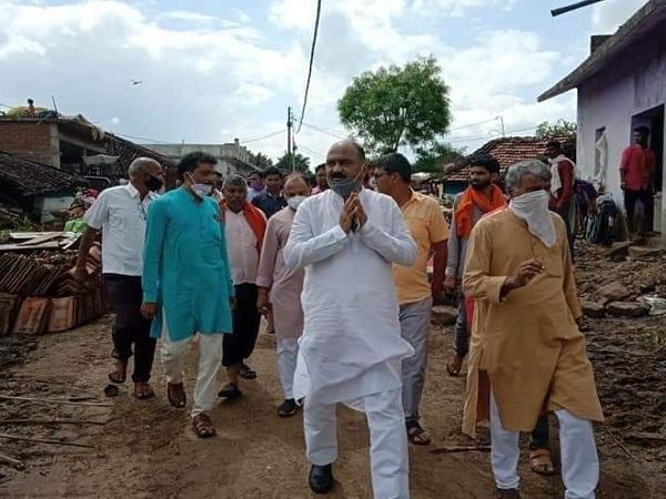 PunjabKesari, Corona, BJP MLA Rakesh Pal Singh, Corona Positive, Seoni, Madhya Pradesh