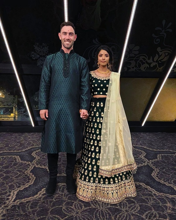 PunjabKesari, Glenn Maxwell Girlfriend, Vini Raman, Glenn Maxwell Photo