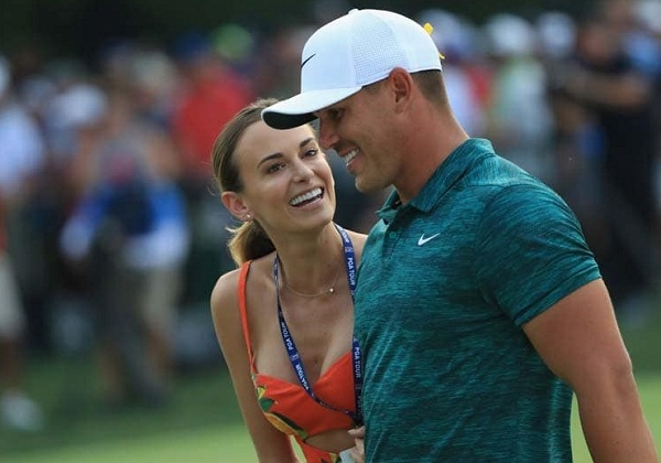Jina sims is a good luck charm for boyfriend Brooks Koepka
