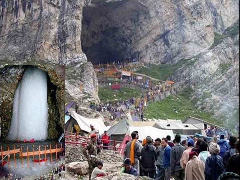 PunjabKesari, Amarnath Yatra, अमरनाथ यात्रा, Amarnath Yatra 2020, अमरनाथ यात्रा 2020, Amarnath Yatra canceled due to Corona, Covied affected Amarnath yatra, Dharmik Sthal, Religious place in india