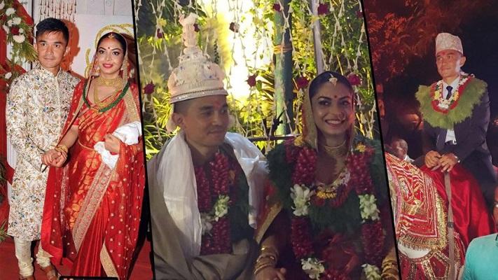 Sunil Chhetri with Wife Sonam