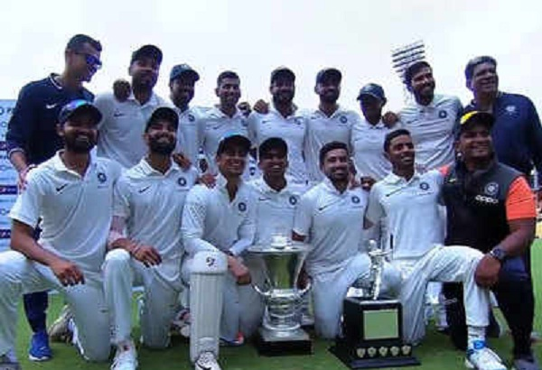 5 wickets of Akshay Wakhare, India Red won Duleep Trophy title